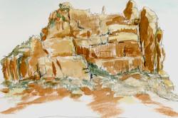 Sedona Quick Sketch 1
