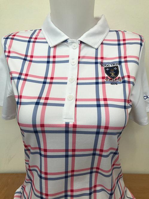 Calvin Klein Check Print Ladies Shirt