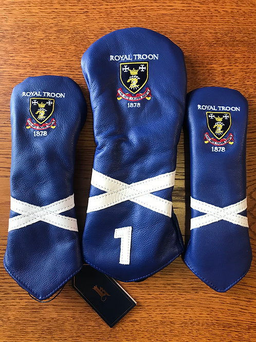 Links & Kings Leather Saltire Covers