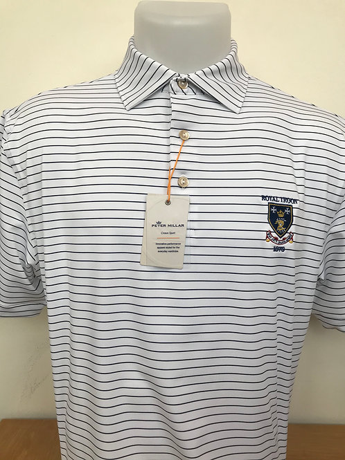 Peter Millar Crafty Stripe - White/Navy