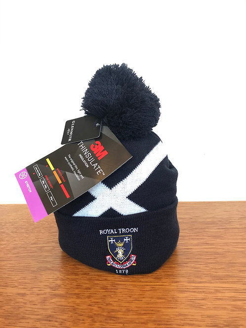 Royal Troon Saltire Beanie Hat