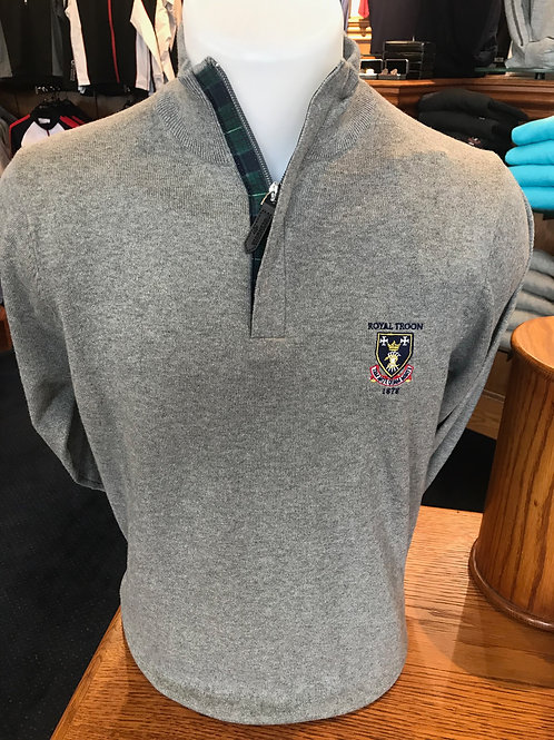 Royal Troon Cotton Cashmere Sweater