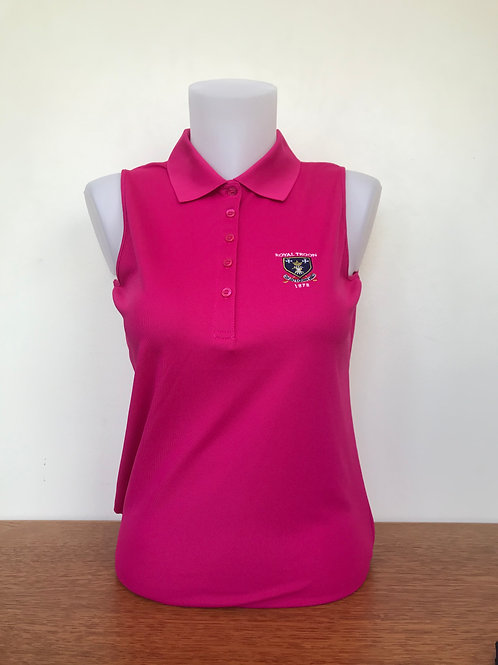 Royal Troon Logo Sleeveless Ladies Shirt