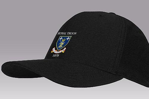 Travis Mathew Nassau Flex Fit Golf Hat Black