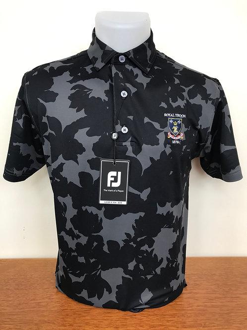Footjoy Camo Floral Polo - Black