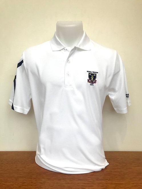 Royal Troon Saltire Shirt - White