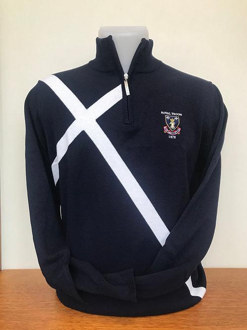 Royal Troon Saltire Sweater