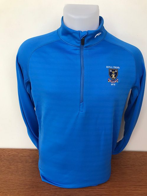 Kjus Keano Half Zip Sweater -Olympic Blue