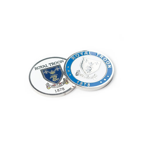 Royal Troon Double Sided Ball Marker
