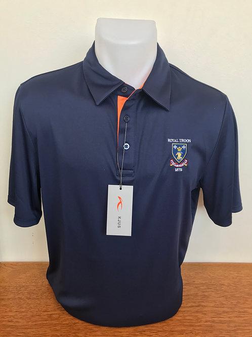 Kjus Silas Polo Navy (Atlanta) Blue