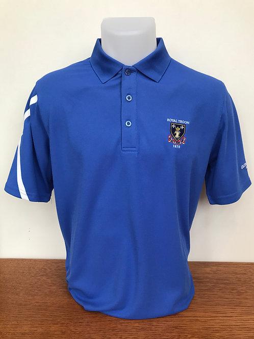 Royal Troon Saltire Shirt - Tahiti Blue