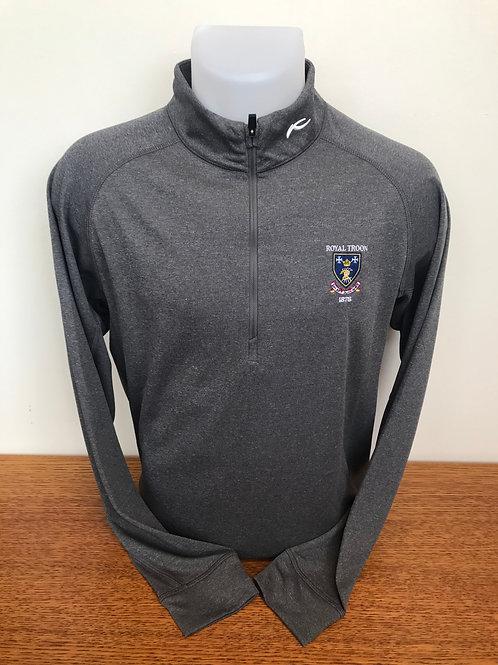 Kjus Keano Half Zip Sweater - Grey