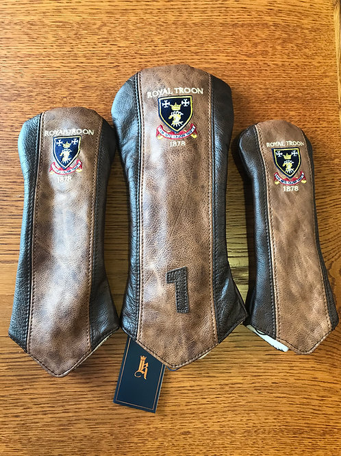 Links & Kings Leather Inverse Covers