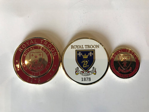 Royal Troon Duo Marker