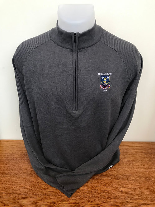 Kjus Kulm Freelite Half Zip Sweater - Grey