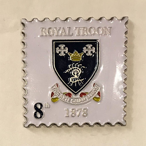 "Royal Troon ""Postage Stamp"" Ball Marker"