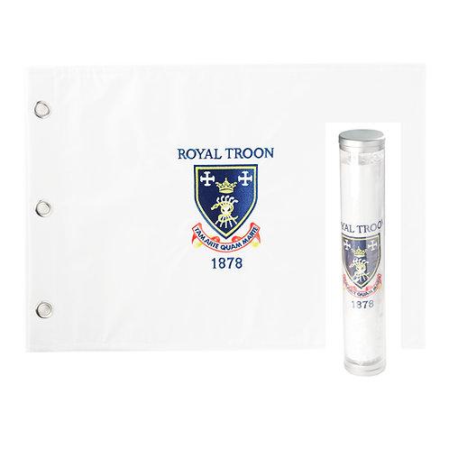 Royal Troon Pin Flag
