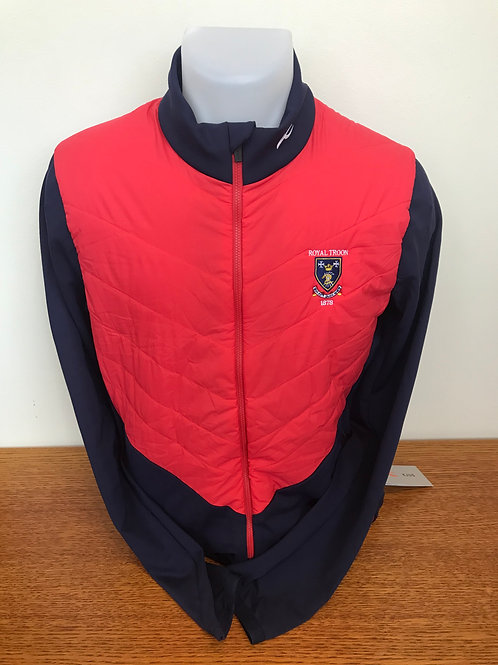 Kjus Release Jacket Atlanta Blue / Jungle Red