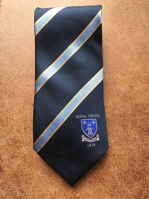 Royal Troon Silk Tie