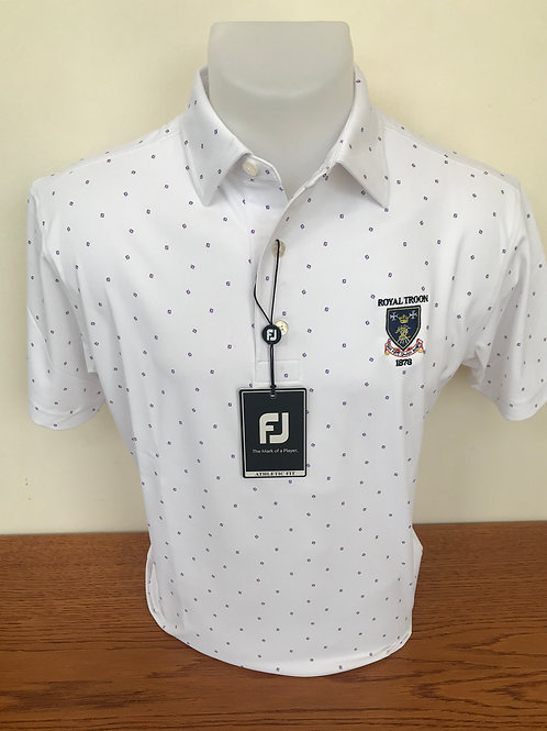 Footjoy Mini FJ Print - White