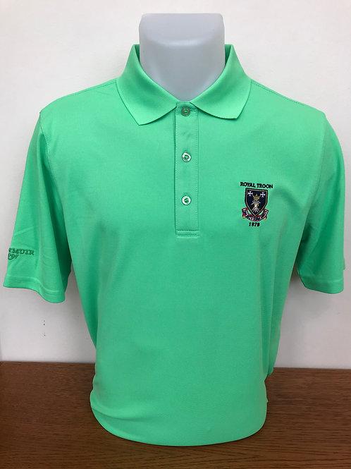 Glenmuir Logo Shirt - Spring Green