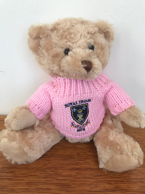 Soft Teddy With Royal Troon Jumper