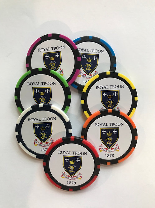 Royal Troon Poker Chip
