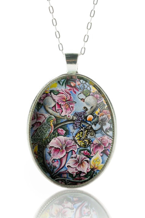 Full Blooming Strings Pendant (Color)
