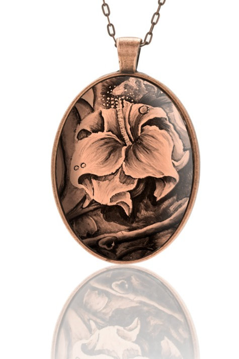 Melodious Flower (Sepia)