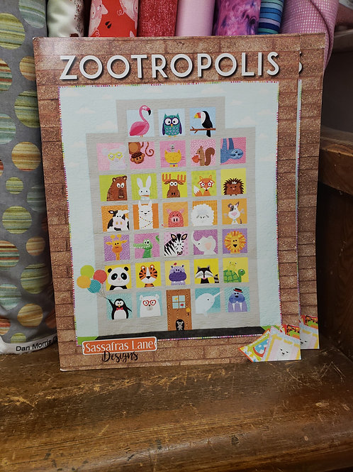 ZOOTROPOLIS by Sassafras Lane Designs