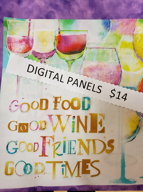 WINE PANEL by 3 WISHES