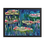 "Thumbnail: ""Water Lily"" 00.6 Framed Poster"