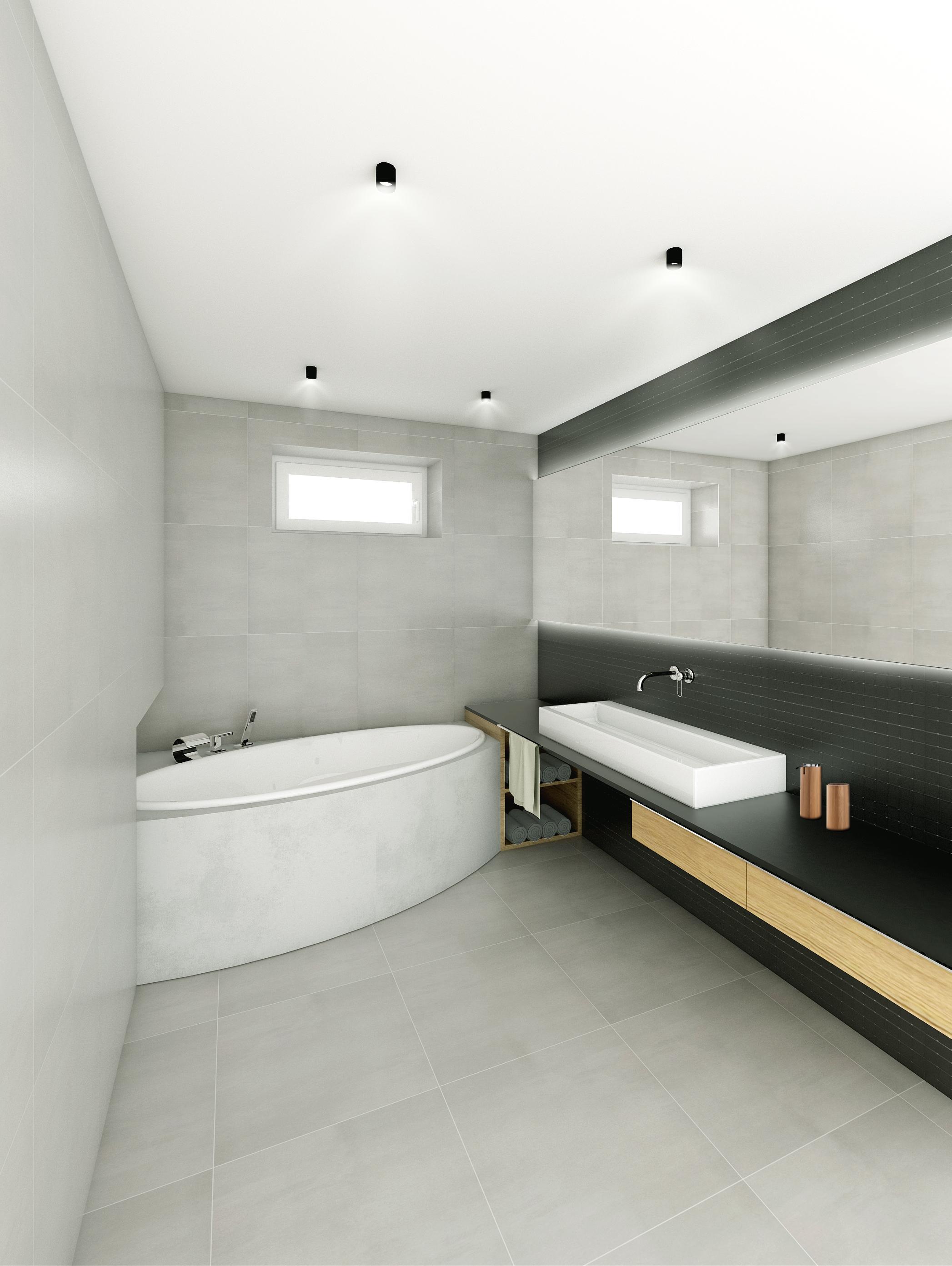 Interiér koupelny, Slovensko