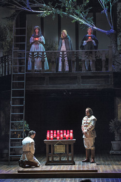 A scene from Much Ado About Nothing