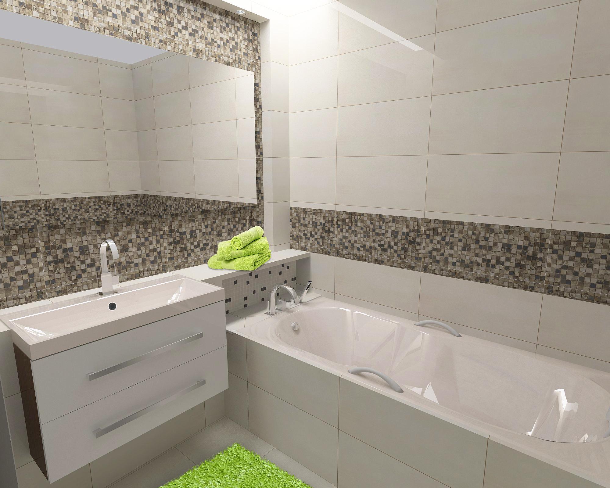 Interiér koupelny, Trenčín (SK)