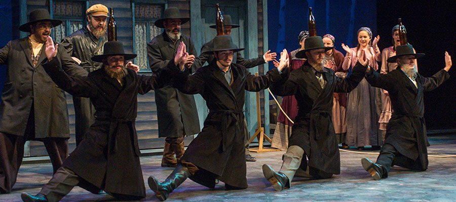 A scene from Fiddler on the Roof