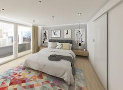 Návrh interiéru ložnice, Slovensko
