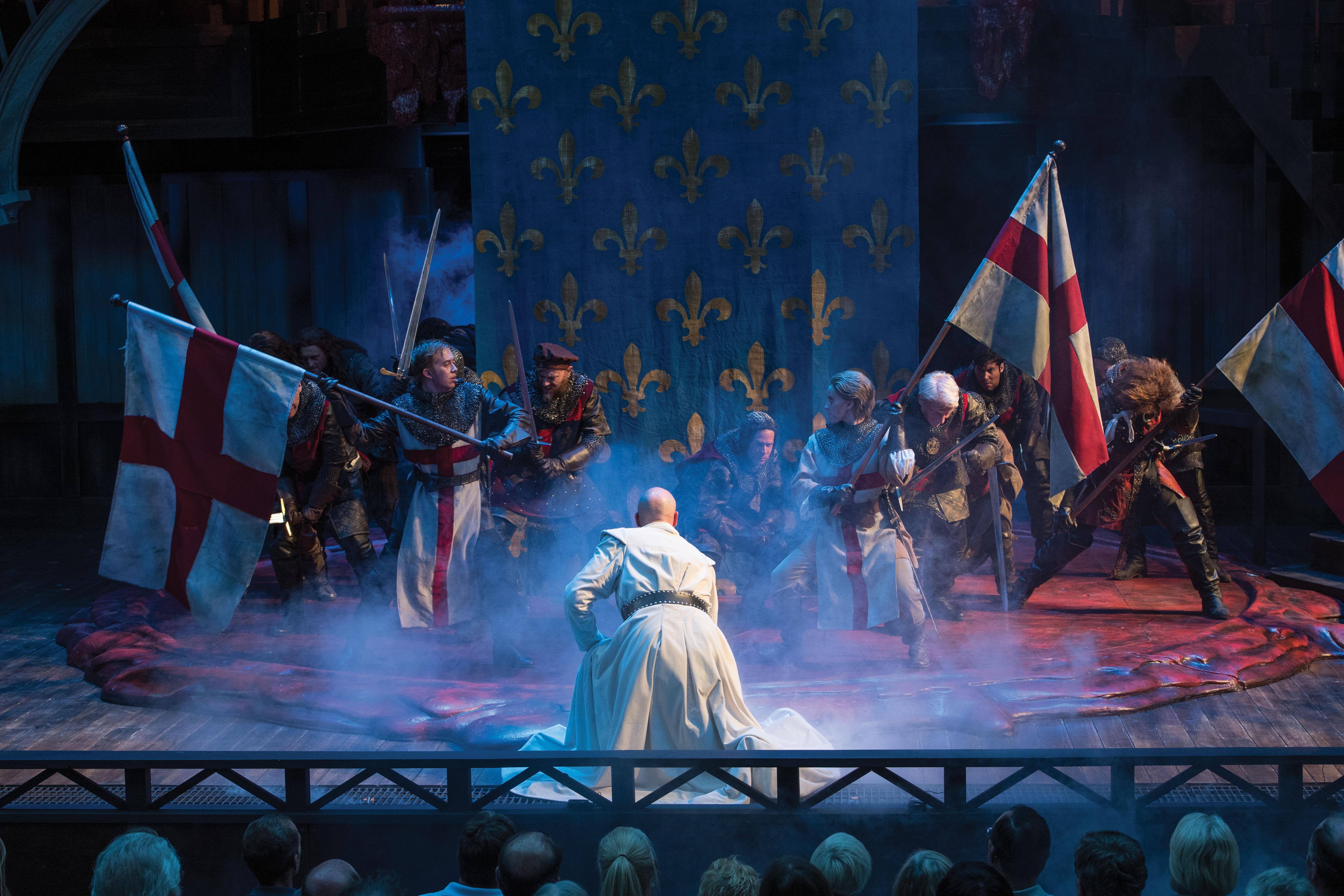 A scene from Henry V
