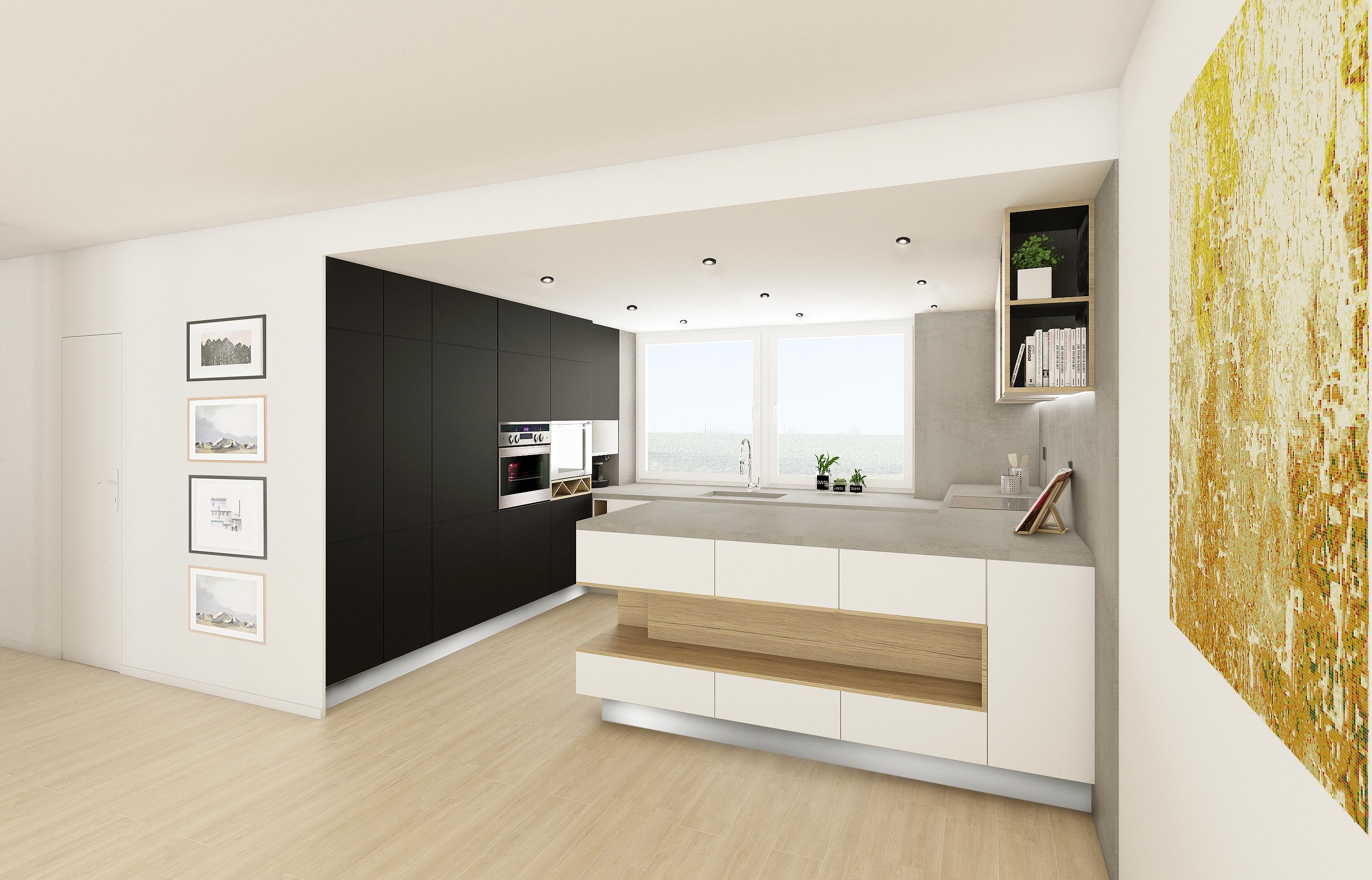 Návrh interiéru kuchyně, Slovensko