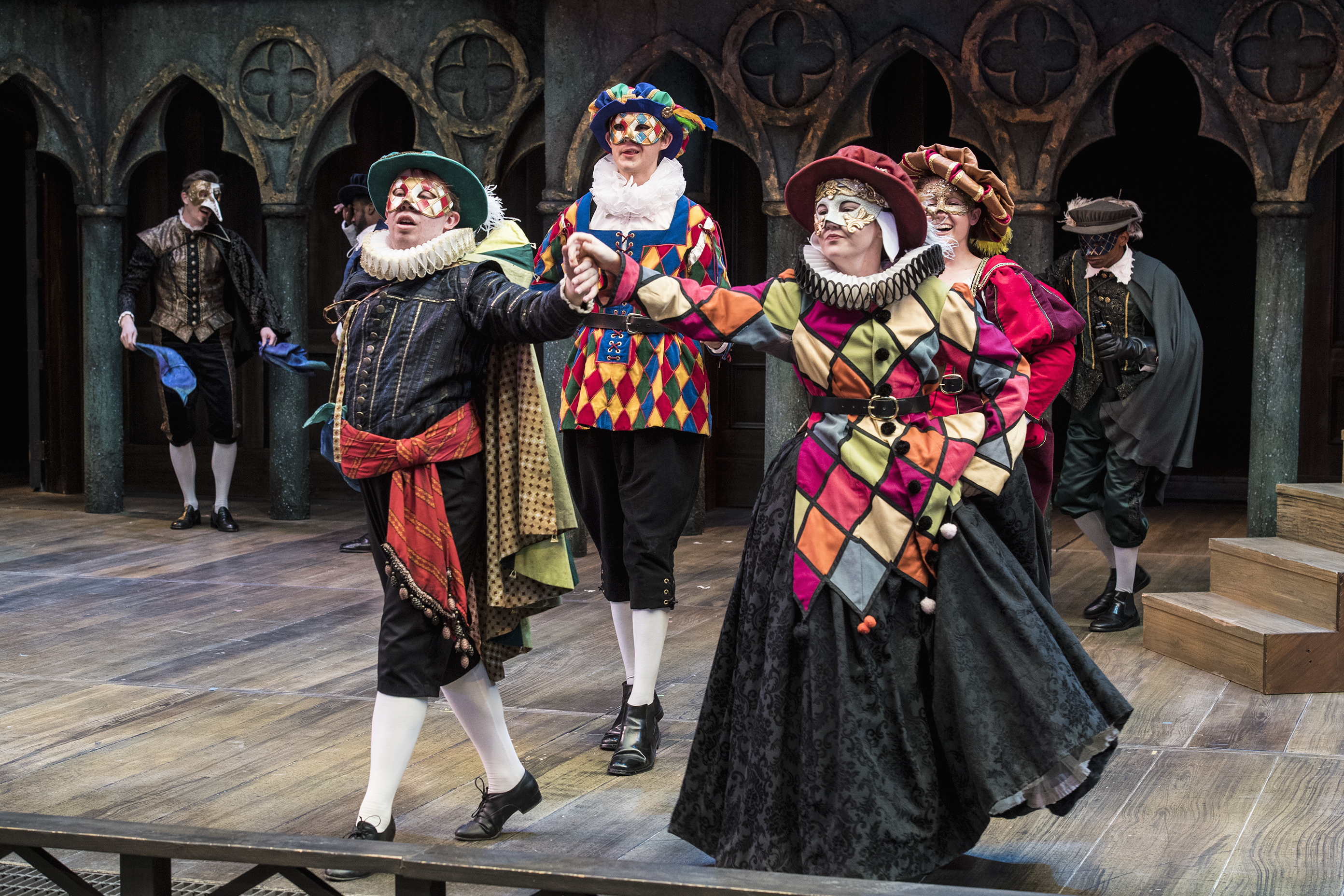 A scene from The Merchant of Venice