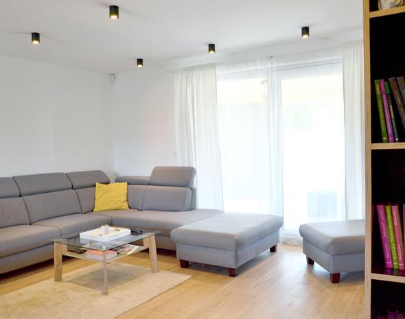 fotografie realizace: obývací pokoj