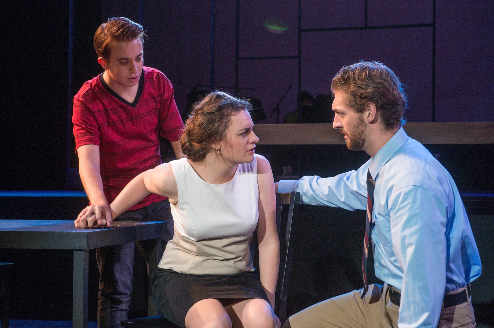 A scene from Next to Normal