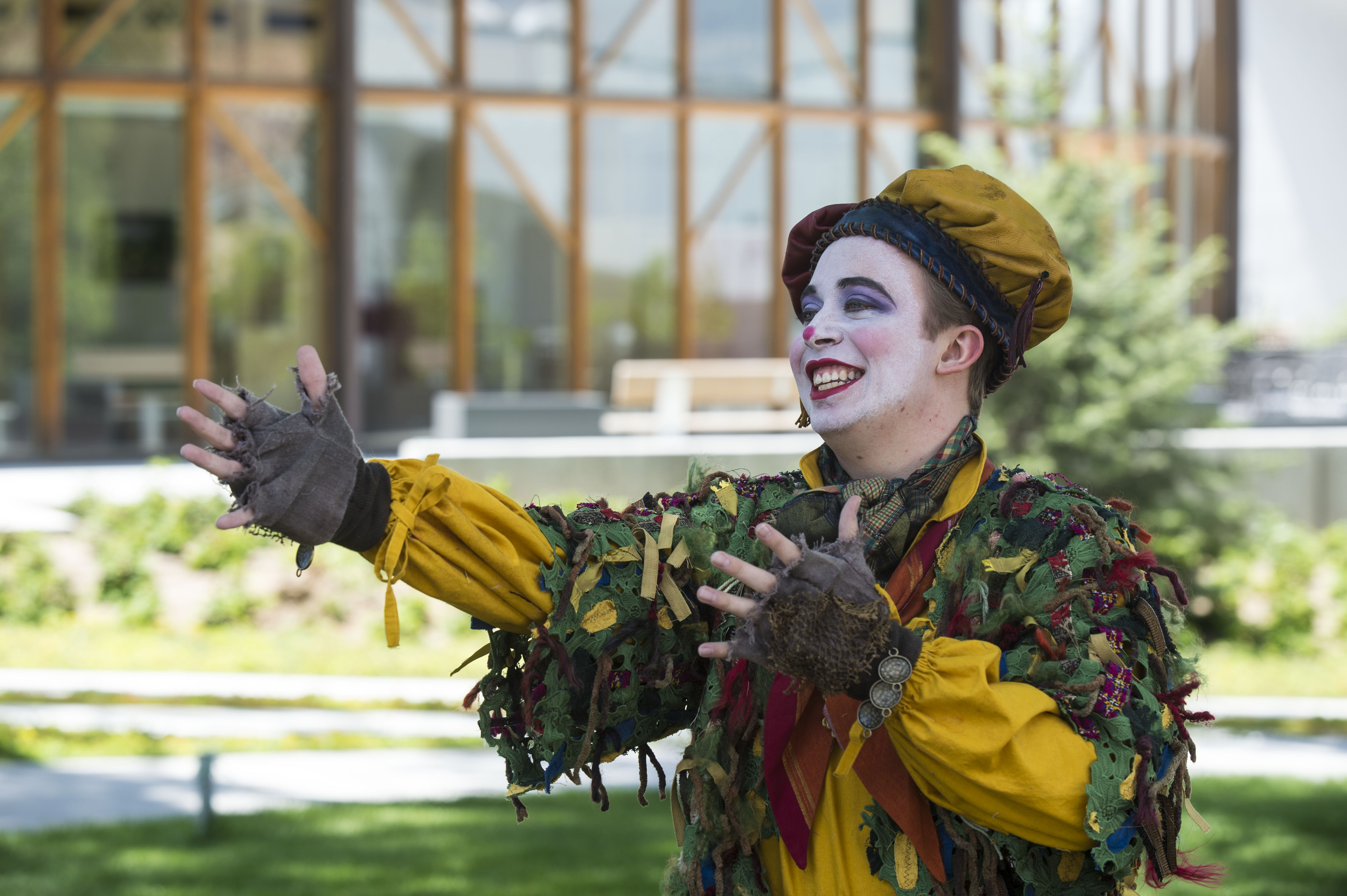 The Clown in The Greenshows
