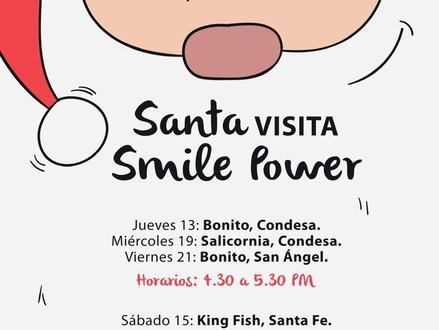 SANTA en Smile Power