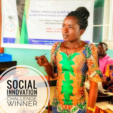 Bukavu Social Innovation Challenge Winner