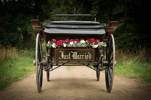Wedding Carriage Aberdeenshire Aberdeen Wedding transport