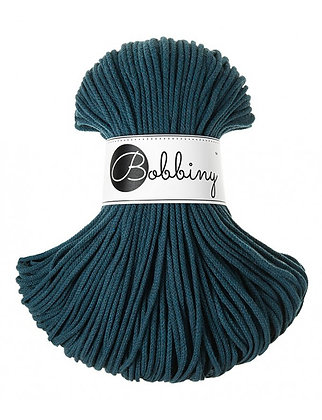 Bobbiny BRAIDED CORD 100M Peacock Blue