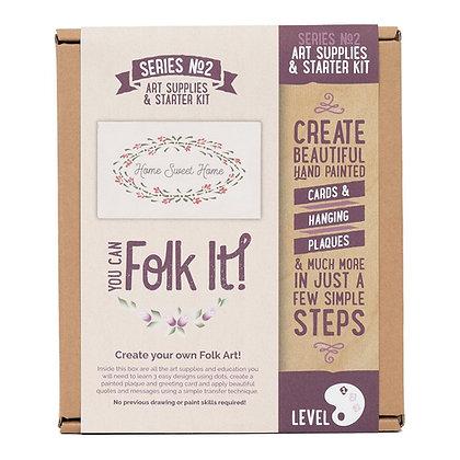 Folk it - Series No. 2 Art Supplies Starter Kit