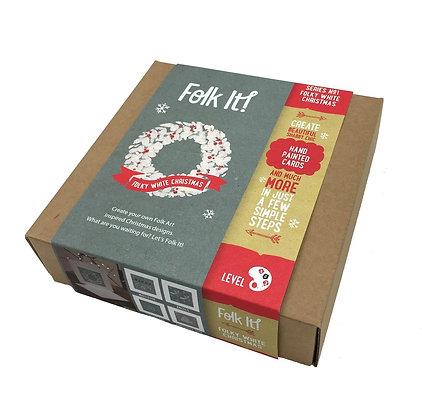 Folk it - Folky White Christmas Kit
