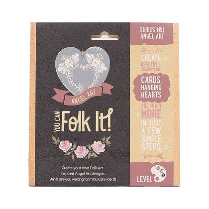 Folk it - Series No. 1 Angel Art Kit